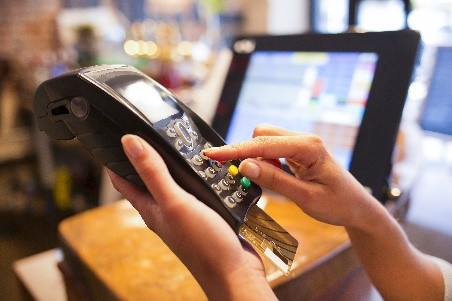 Máquina de cartão de crédito